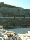 Ephesus--Amphitheater  Trip: Greece, Egypt and Africa Entry: Fethiye to Istanbul Date Taken: 10 Oct/03 Country: Turkey Taken By: Travis Viewed: 993 times Rated: 6.0/10 by 1 person