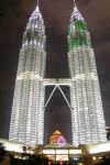 Petronas Towers, Kuala Lumpur  Trip: Brunei to Bangkok Entry: Kuala Lumpur Date Taken: 07 Dec/03 Country: Malaysia Taken By: Mark Viewed: 1636 times Rated: 9.5/10 by 47 people